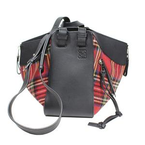 Loewe LOEWE Hammock Small Bag Tartan Check Shoulder Women