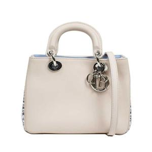 Dior Christian Diorissimo 2way Bag MA-0126 Leather Women