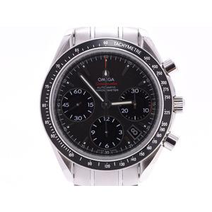 オメガ スピードマスター デイト クロノグラフ 黒文字盤 323.30.40.40.06.001 メンズ SS 自動巻 腕時計 Aランク 美品 OMEGA 中古 銀蔵