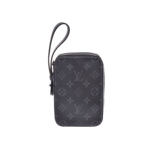 ルイ・ヴィトン (Louis Vuitton) ルイヴィトン エクリプス ボックスクラッチ M61872 メンズ バッグ ポーチ 新同 美品 LOUIS VUITTON 中古 銀蔵