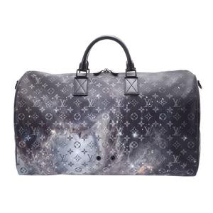 ルイ・ヴィトン (Louis Vuitton) ルイヴィトン キーポルバンドリエール50 ギャラクシー M44166 メンズ レディース ボストンバッグ 新品 LOUIS VUITTON ストラップ付 銀蔵