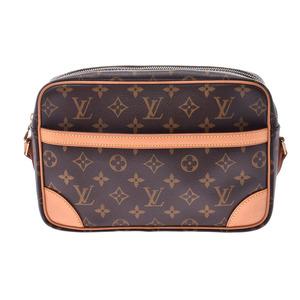 ルイ・ヴィトン (Louis Vuitton) ルイヴィトン モノグラム トロカデロS ブラウン M51274 メンズ レディース 本革 ショルダーバッグ Aランク 美品 LOUIS VUITTON 中古 銀蔵