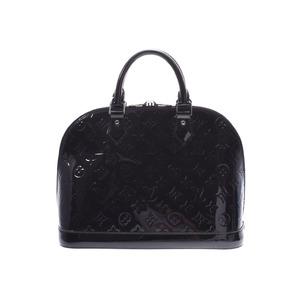 ルイ・ヴィトン (Louis Vuitton) ルイヴィトン ヴェルニ アルマPM ノワールマニエティック M90061 レディース 2WAYバッグ Aランク 美品 LOUIS VUITTON 中古 銀蔵