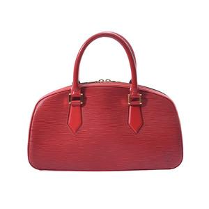 Louis Vuitton Epi Jasmine Red M52087 Ladies Genuine Leather Handbags AB Rank LOUIS VUITTON Used Ginzo