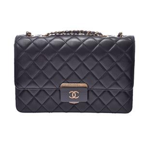 シャネル(Chanel) シャネル マトラッセ チェーンショルダーバッグ 黒 レディース ラムスキン Aランク 美品 CHANEL ギャラ 中古 銀蔵