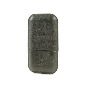 LOUIS VUITTON Louis Vuitton Ettuy · 3 Robusto Taiga Cigar Case Cigarette M 30724 20190503