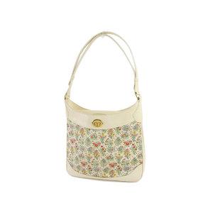 GUCCI Gucci floral flower one shoulder bag vintage white 20190523
