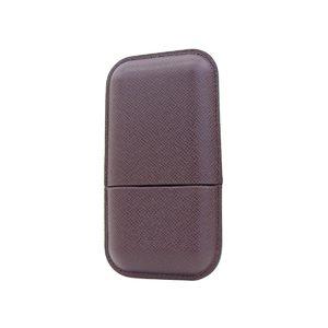 LOUIS VUITTON Louis Vuitton Etyuy 3 Robusto Taiga Cigarette Case Cigar Akajou M30726 20190529