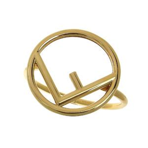 FENDI F IS LOGO Bangle Bracelet Gold 20190531