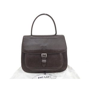 PRADA Prada vintage handbag leather brown 20190531
