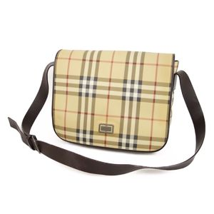 Burberry London BURBERRY LONDON Checked Shoulder Bag Made in Italy Women's Beige / Brown Bags