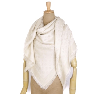 Louis Vuitton LOUIS VUITTON Monogram Shine Stole Shawl Bron (Champagne Color) Women Large Format
