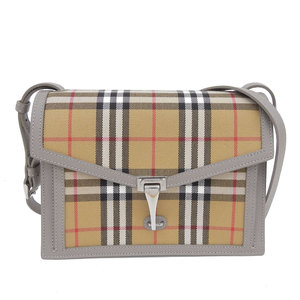 Burberry BURBERRY Small Vintage Check & Leather Crossbody Bag 80063611
