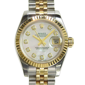 Rolex ROLEX Datejust Automatic Ladies Watch Shell Dial 179173NG