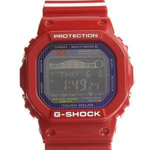 Genuine CASIO Casio G-SHOCK Tough Solar Watch Red Model: GWX-5600C