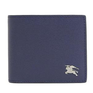 Genuine Burberry Leather Bi-fold Wallet Purse