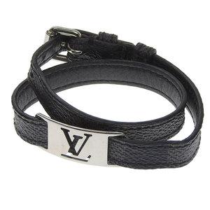 Genuine LOUIS VUITTON Louis Vuitton Damier Graphite Bracelet