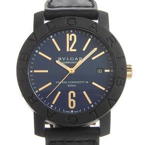 Genuine BVLGARI Bulgari Carbon Men's Automatic Watch-Model: BB40CL