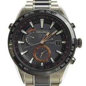 Genuine SEIKO Astron Men's Solar Watch Model: SBXA017 7X52-0AF0