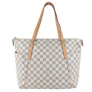 Genuine LOUIS VUITTON Louis Vuitton Damier Azur Tourette MM Shoulder Bag Model: N 41 279 bag leather