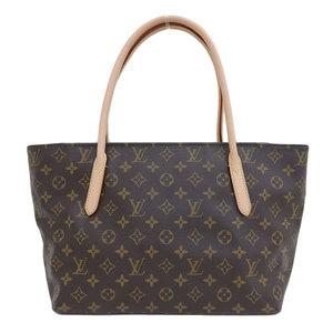 Genuine LOUIS VUITTON Louis Vuitton Monogram Raspail Tote Bag Leather