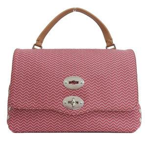 Zanellato PU Leather Handbag Brown,Red