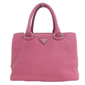 Genuine PRADA Prada leather 2WAY handbag shoulder fuchsia pink model number: BN2853 bag