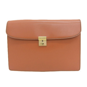 Valextra Valetustra leather clutch bag document case with key SATO bespoke display degree