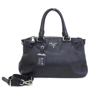 Prada PRADA 2015 products BN 2866 SOFT CALF 2way handbag with guarantee