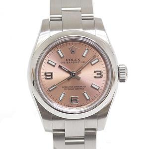 ROLEX Rolex Ladies Wrist Watch Oyster Perpetual 176200 Pink Dial Random Serial