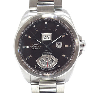 TAG HEUER Heuer men's watch Grand Carrera GMT caliber 8 WAV5113 Brown Dial Automatic winding