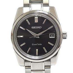 SEIKO Men's Wrist Watch Grand Seiko Historical Collection GS Self-Data Reprint 900 Limited World Edition SBGV011 Black (Black) Dial Quartz