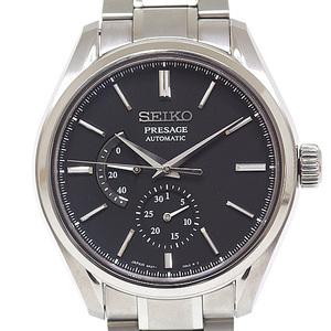 SEIKO Seiko men's watch Presage mechanical SARW043 black (black) clock face automatic winding