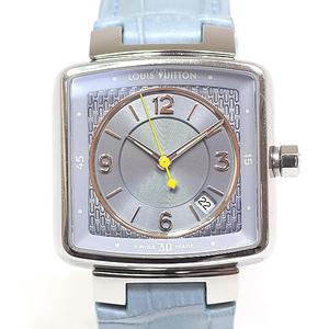 LOUIS VUITTON Louis Vuitton Ladies Watch Speedy Tambour Q2211 Light Blue Dial Quartz