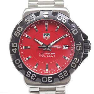 TAG Heuer Tag Mens Watch Formula 1 WAH 1112.BA0850 Red (Red) Dial Quartz