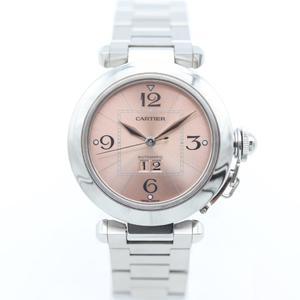 Cartier Pasha De Cartier Automatic Stainless Steel Women's Dress Watch Pasha C Big Date