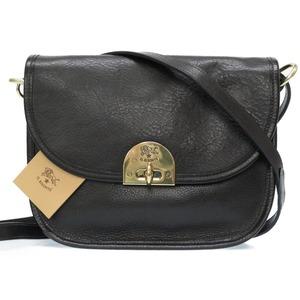 Irubizonte 2WAY leather shoulder bag A2708 black 0065 IL BISONTE