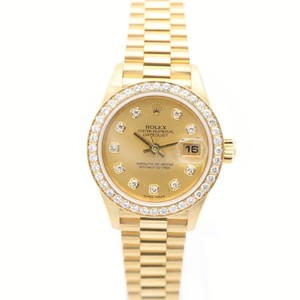 Rolex Datejust Automatic Yellow Gold (18K) Women's Luxury Watch 79138G