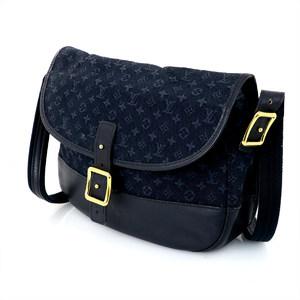 LOUIS VUITTON Monogram Mini Line Belanger M92673 Shoulder Bag Women