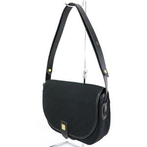Christian Dior ChristianDior Trotter Canvas Shoulder Bag Diagonally Hang Women