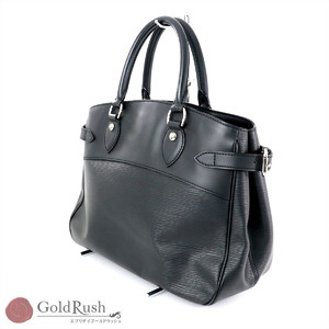LOUIS VUITTON LOUISVUITTON Epi Line Leather Passy PM Handbag Women