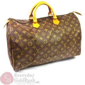 LOUIS VUITTON Speedy 40 M41522 Monogram Boston Bag Handbag