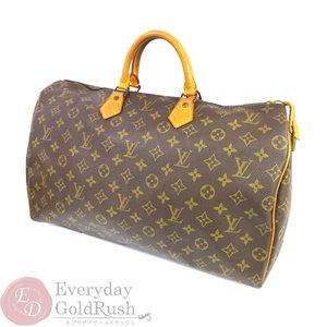 LOUIS VUITTON Speedy 40 M41522 Monogram Handbag Boston Bag