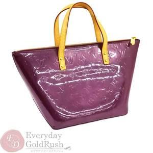 LOUIS VUITTON Belle Vue PM M93584 Vernis Viole Handbags Ladies