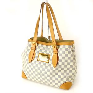 LOUIS VUITTON Damier Azur N51206 Hampstead MM Handbag Ladies