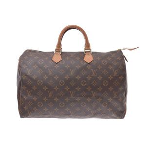 ルイ・ヴィトン (Louis Vuitton) ルイヴィトン モノグラム スピーディ40 ブラウン M41522 メンズ レディース ハンドバッグ Bランク LOUIS VUITTON 中古 銀蔵