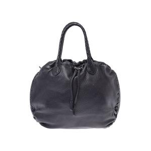 Bottega Veneta Handbag Black Ladies Calf AB Rank BOTTEGA VENETA Used Ginzo