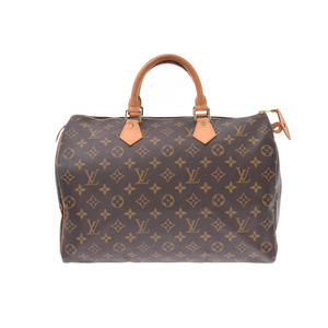 ルイ・ヴィトン (Louis Vuitton) ルイヴィトン モノグラム スピーディ35 ブラウン M41524 レディース 本革 ハンドバッグ Bランク LOUIS VUITTON 中古 銀蔵