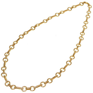 Like new Celine vintage gold chain long necklace accessories 0170CELINE