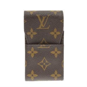 Genuine LOUIS VUITTON Louis Vuitton Monogram Cigarette Case